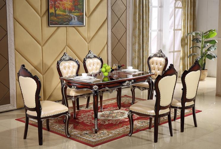 1803西餐桌1802餐椅